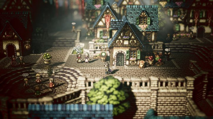 سیستم مورد نیاز بازی Octopath Traveler اکتوپات تراولر + عکس و تریلر