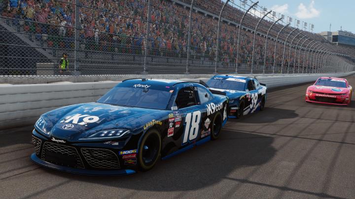 سیستم مورد نیاز بازی NASCAR Heat 4 ناسکار هیت + عکس و تریلر
