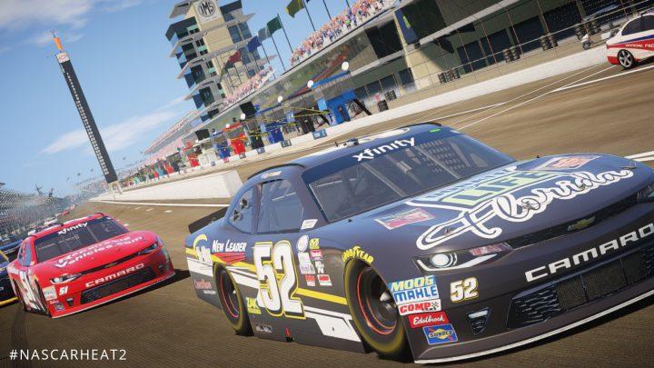سیستم مورد نیاز بازی NASCAR Heat 2 ناسکار هیت + عکس و تریلر