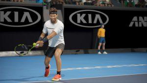 سیستم مورد نیاز بازی AO International Tennis + عکس و تریلر