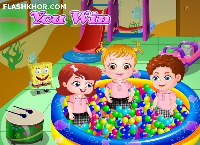 بازی آنلاین بچه داری بازی بچه گانه بچه کوچولو فلش