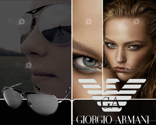 عینک مارک جیورجیو آرمانی شرکت معروف Giorgio Armani