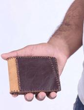 کیف موبایل چرم جیب دار مدل چرم دست دوز