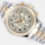 ساعت رولکس طرح اصل مچی طلایی نقره ای walar