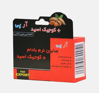 صابون نرم بادام کوجیک اسید بهدیس تدبیر